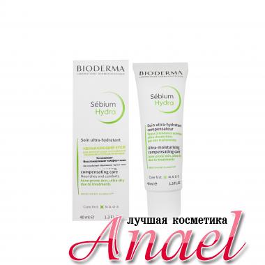 Bioderma Увлажняющий крем для лица Sebium Hydra  Soin Ultra-Hydratant Compensateur (40 мл)