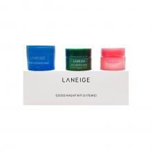 Laneige Набор миниатюр для ночного ухода за кожей «Спокойной ночи» Good Night Kit (3 предмета)