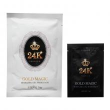 Lindsay Двухшаговая моделирующая альгинатная маска премиум-класса с экстрактом золота Gold Magic Modeling Gel Mask Pack (50 мл + 5 мл)