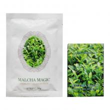 Lindsay Двухшаговая моделирующая альгинатная маска премиум-класса с экстрактом зеленого чая Malcha Magic Modeling Gel Mask Pack (50 мл + 5 мл)