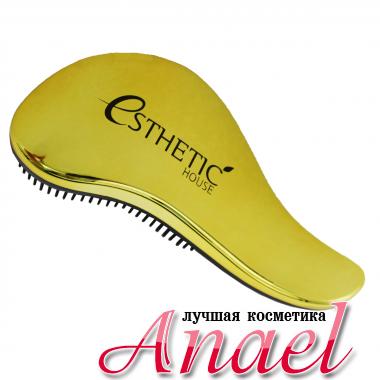 Esthetic House Золотая расческа для волос (18*7см)