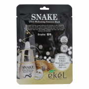 Ekel Ультра-увлажняющая антивозрастная тканевая маска с экстрактом змеиного яда Snake Ultra Hydrating Essence Mask (25 мл)