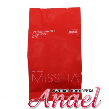Missha Кушон с бархатным финишем тон 21 Refill Velvet Finish Cushion №21 (15 мл)