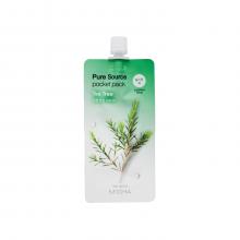 Missha Ночная маска для лица с экстрактом чайного дерева Pure Source Pocket Tea Tree (10 мл)