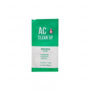 Etude House Точечные патчи от воспалений и акне Ac Clean Up Spot Patch (12 шт)