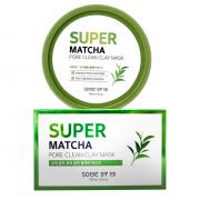 Some by mi Глиняная маска с чаем матча Super Matcha Pore Clean Clay Mask (100 мл)