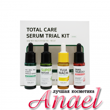 Some By Mi Набор мини-сывороток Total Care Serum Trial Kit (4 предмета)