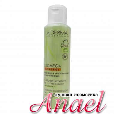 A-Derma Очищающий гель 2 в 1 для волос и тела Exomega Control Emollient Cleansing Gel (500 мл)