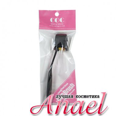 Coringco Макияжная щетка для нанесения и распределения кремообразных средств COC Lovely Pink Make Up Brush (1 шт)