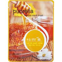 Puorella Восстанавливающая тканевая маска с экстрактом меда Honey Natural Mask Sheet (1 шт)