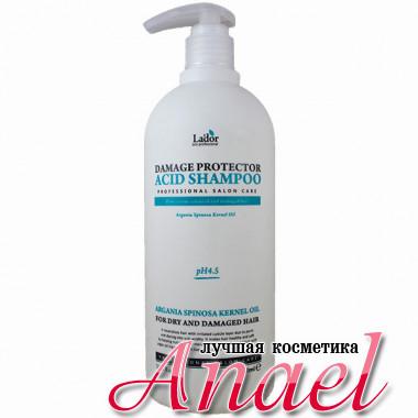 La'dor Восстанавливающий шампунь с аргановым маслом для сухих и поврежденных волос Damage Protector Acid Shampoo (900 мл)