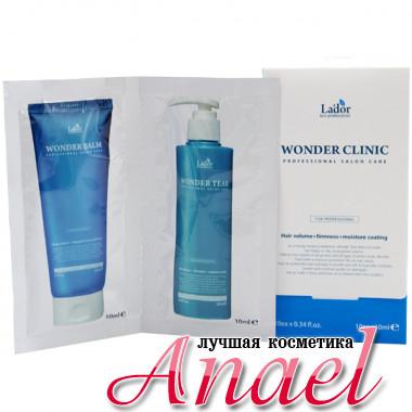 La'dor Дуэт средств для восстановления поврежденных волос Professional Salon Care Wonder Balm + Wonder Tear (10 шт х 10 мл)
