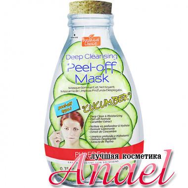 Purederm Маска-пленка для глубокого очищения кожи «Огурец» Deep Cleansing Peel-off Mask «Cucumber» (10 гр)