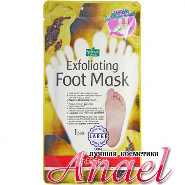 Purederm Большие носочки-маски для пилинга с экстрактами папайи и ромашки Exfoliating Foot Mask Large (2 х 20 мл)