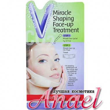 Purederm Чудесная корректирующая лифтинг-маска для подбородка Miracle Shaping Face-up Treatment (1 шт x 5 гр)