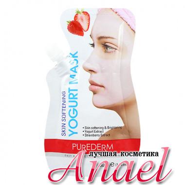 Purederm Йогуртовая маска-крем Клубника Skin Softening Yogurt Mask (50 мл)