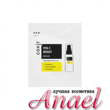 COXIR Пробник отбеливающей витаминной сыворотки для лица Vita C Bright Serum