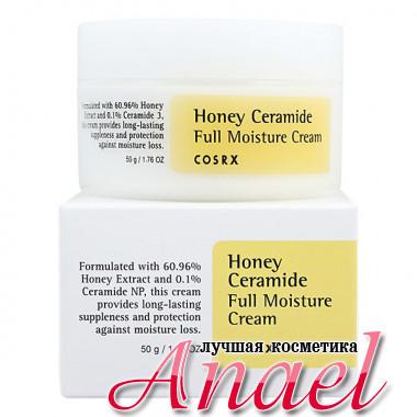 COSRX Увлажняющий крем с экстрактом меда и церамидами для лица Honey Ceramide Full Moisture Cream (50 гр)