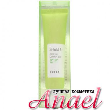 COSRX Солнцезащитный крем для чувствительной кожи лица Shield fit All Green Comfort Sun Sensitive SPF50+ PA++++ (35 мл)
