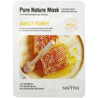 Anskin Secriss Тканевая маска «Сладкий мед» Pure Nature Mask Sweet Honey (1 шт)
