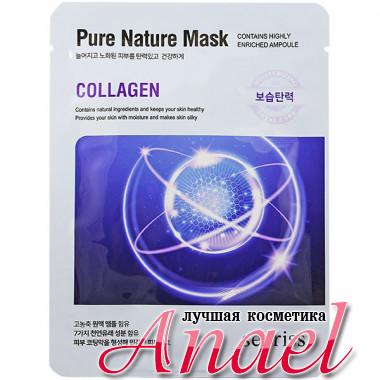 Anskin Secriss Тканевая маска с коллагеном Pure Nature Mask Collagen (1 шт)