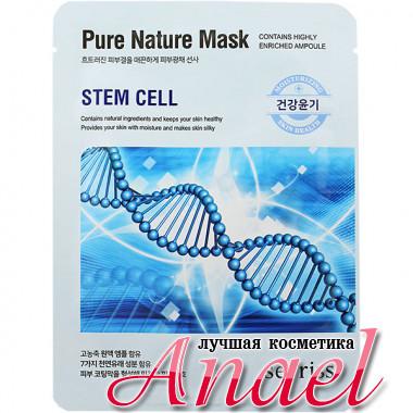 Anskin Secriss Тканевая маска с растительными стволовыми клетками Pure Nature Mask Stem Cell (1 шт)