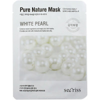 Anskin Secriss Тканевая маска с экстрактом белого жемчуга Pure Nature Mask White Pearl (1 шт)