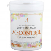 Anskin Альгинатная маска против акне Modeling Mask AC Control Trouble Skin & Oily Skin (240 гр)