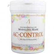 Anskin Альгинатная маска против акне Modeling Mask AC Control Trouble Skin & Oily Skin (240 гр)