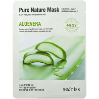 Anskin Secriss Тканевая маска с экстрактом алоэ вера Pure Nature Mask Aloe Vera (1 шт)