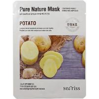 Anskin Secriss Тканевая маска с экстрактом картофеля Pure Nature Mask Potato (1 шт)