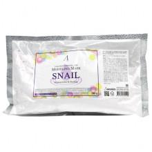 Anskin Сменный пакет улиточной альгинатной маски Modeling Mask Snail Regeneration & Healing (240 гр)