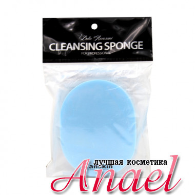 Anskin Профессиональный очищающий спонж-губка Bella Accessori Cleansing Sponge (1 шт)