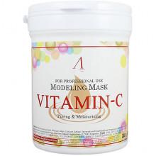Anskin Увлажняющая альгинатная маска с витамином С Modeling Mask Vitamin-C Puring & Moisturizing (240 г)