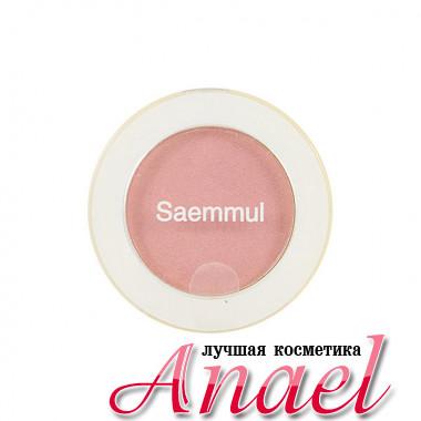 The Saem Одноцветные тени с блеском Тон PK03 Холодный розовый Saemmul Single Shimmer Shadow (2 гр)