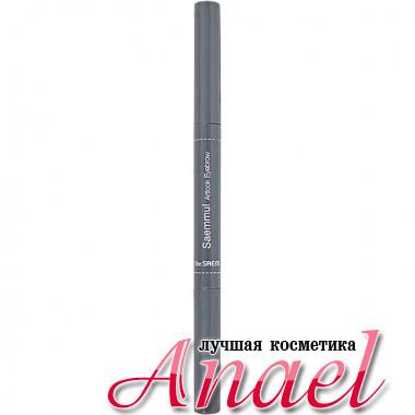 The Saem Автоматический карандаш для бровей «Художественный взгляд» Тон 02 Темно-Коричневый Saemmul Artlook Eyebrow (0,2 гр)
