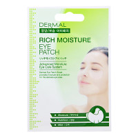 Dermal Глубокоувлажняющие патчи для кожи вокруг глаз Rich Moisture Eye Patch (6 гр)