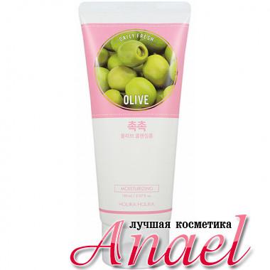 Holika Holika Увлажняющая пенка для умывания «Олива» Daily Fresh Olive Cleansing Foam (150 мл)