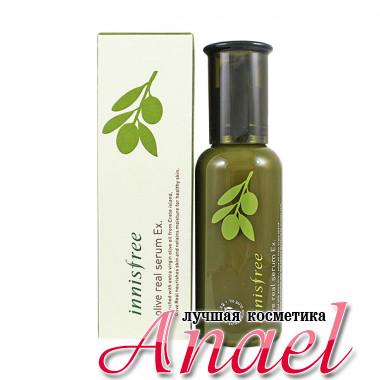 Innisfree Концентрированная увлажняющая сыворотка с оливковым маслом для лица Olive Real Serum EX (50 мл)