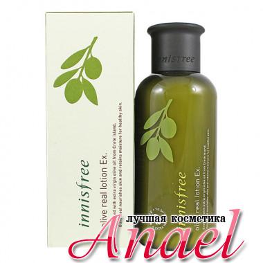 Innisfree Лосьон с оливковым маслом для сухой кожи лица Olive Real Lotion Ex (160 мл)