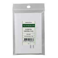 Innisfree Матирующие салфетки для лица Clear Oil Control Film (50 шт)