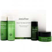 Innisfree Набор миниатюр средств для лица «Зеленый чай» Green Tea Special Kit EX (4 предмета)