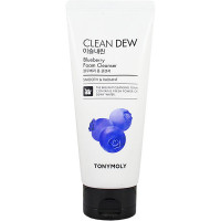 Tonymoly Пенка для умывания с экстрактом черники «Чистая роса» Clean Dew Blueberry Foam Cleanser (180 мл)