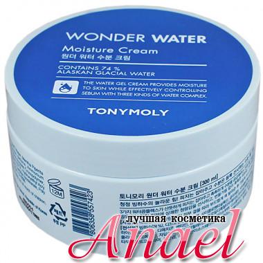 Tonymoly Увлажняющий крем с ледниковой водой для лица и тела Wonder Water Moist Cream (300 мл)