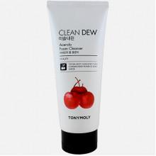 Tonymoly Пенка для умывания с экстрактом ацеролы «Чистая роса» Clean Dew Acerola Cleanser Foam (180 мл)