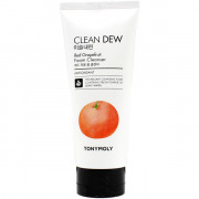 Tonymoly Пенка для умывания «Чистая роса» с экстрактом красного грейпфрута Clean Dew Red Grapefruit Foam Cleanser (180 мл)