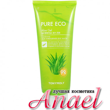 Tonymoly Успокаивающий гель с алоэ Pure Eco Aloe Gel (300 мл)