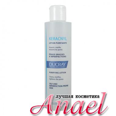 Ducray Очищающий лосьон Керакнил для жирной и проблемной кожи Keracnyl Purifying Lotion (200 мл)