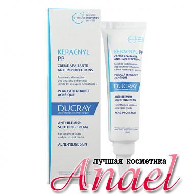 Ducray Успокаивающий крем Керакнил против акне Keracnyl Anti-Blemish Soothing РР Cream (30 мл)