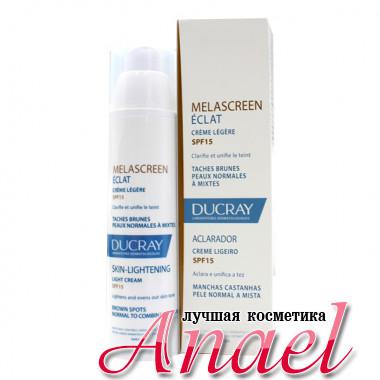 Ducray Легкий осветляющий крем с SPF15 для лица Melascreen Eclat Skin Lightening Light Cream (40 мл)